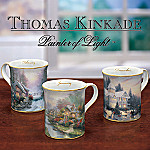 Thomas Kinkade Joys of the Seasons Mugs Set One