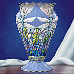 Glittering Dragonflies Vase