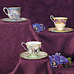 Lena Liu Teatime Treasury Teacups and Saucers Set