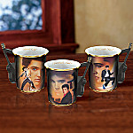 Elvis Presley's Greatest Hits Mug Set One