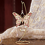 Wings Of Hope Breast Cancer Charity Butterfly Ornament With Stand