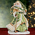 Edmund Sullivan Gift of Irish Blessings Musical Santa Collectible Figurine