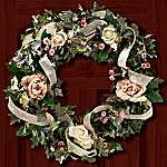 Garden Jewels Welcome Wreath