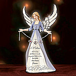 A Mother's Love Birthstone Charm Angel Figurine