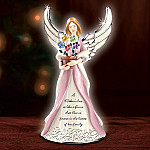 A Mother's Love Is Like A Flower Birthstone Angel Figurine