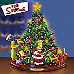 The Simpsons Collectible Tabletop Holiday Tree: Simpsons Themed Christmas Gift