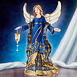 Jeweled Faberge Style Musical Angel Figurine