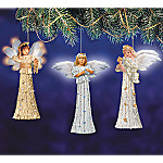 Sandra Kuck's Heavenly Dreams Ornament Set One