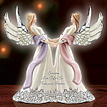 Sisters Are Gifts To Treasure Forever Musical Angel Figurine