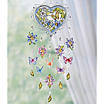 Nature's Splendor Heirloom Glass Mobile