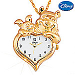 Lenox Winnie The Pooh Heart Of Gold Watch Pendant