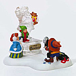 Department 56 North Pole Series Street Santa Statue Village Accessory