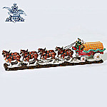 Department 56 Original Snow Village(R) Budweiser Clydesdales Village Accessory