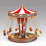 Mr. Christmas World's Fair Swing Carousel Music Box