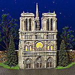 Department 56 Notre Dame Cathedral