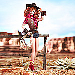 Way Out West Cowboy Style Barbie Fashion Doll