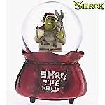 Shrek The Halls Musical Christmas Water Globe