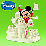 Department 56 Snowbabies Minnie Mouse Look What We Have For Mickey Figurine