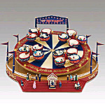 Mr. Christmas World's Fair Roundabout Animated Music Box
