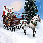 Possible Dreams Santa And Mrs. Claus Victorian Christmas Figurine: Sleigh Ride Together With You