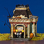 Department 56 Collectible Halloween Village: Grimslys Garage