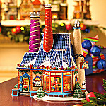 Department 56 North Pole Series: North Pole Porcelain Building Works