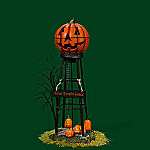 Department 56 Halloween Village Accessory: Halloween Water Tower
