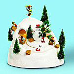 Department 56 Peanuts Sledding Hill Figurine