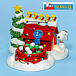 Department 56 Peanuts Christmas Candy Dish