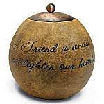 Comfort Candles Inspirational Friendship Gift Candleholder