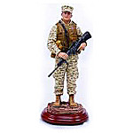 Security Present Collectible Marine Corps Figurine