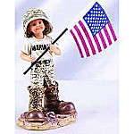 Little Marine Recruit Collectible Marine Corps Figurine