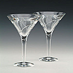 Waterford Crystal Siren Martini Glasses: Set Of Two