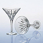 Marquis By Waterford Sheridan Crystal Martini Glasses: Set Of Two