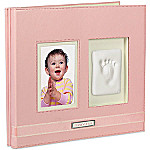Babyprints Handprint/Footprint Scrapbook: Pink
