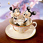 Lenox Mickey's Teacup Twirl Collectible Figurine