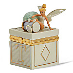 Lenox Collectible Disney Tinker Bell Tumbling Tink Treasure Box