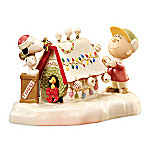 Lenox Snoopy's Christmas Celebration Collectible Figurine