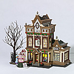 Department 56 Christmas In The City Series Collectible Victorias Doll House Gift Set