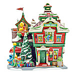 Department 56 North Pole Series Collectible Sesame Street At The North Pole Village Building