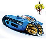 Speed Freaks Acid-Dip-Racer Collectible Miniature Car Figurine