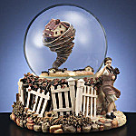 Collectible Wizard Of Oz Tornado Water Globe Music Box