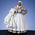 Collectible Gone With The Wind Mammy Holding Scarlett's Dress Musical Figurine