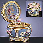 Collectible Carousel Horse Hinged Music Box