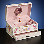 Collectible Ballerina Musical Jewelry Box
