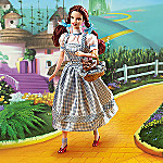 The Wizard Of Oz Dorothy Collectible Barbie Doll With Ruby Slippers