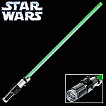 Collectible Yoda Lightsaber Star Wars Episode II And III FX Edition