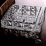 Waterford Crystal Great Barrington Collection Executive Desk Organizer