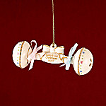 Lenox 2007 Baby's First Christmas Rattle Ornament: New Parent Gift