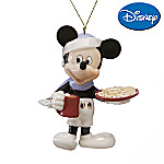 Lenox 2007 Disney Mickey Mouse's Christmas Treat Christmas Collectible Ornament